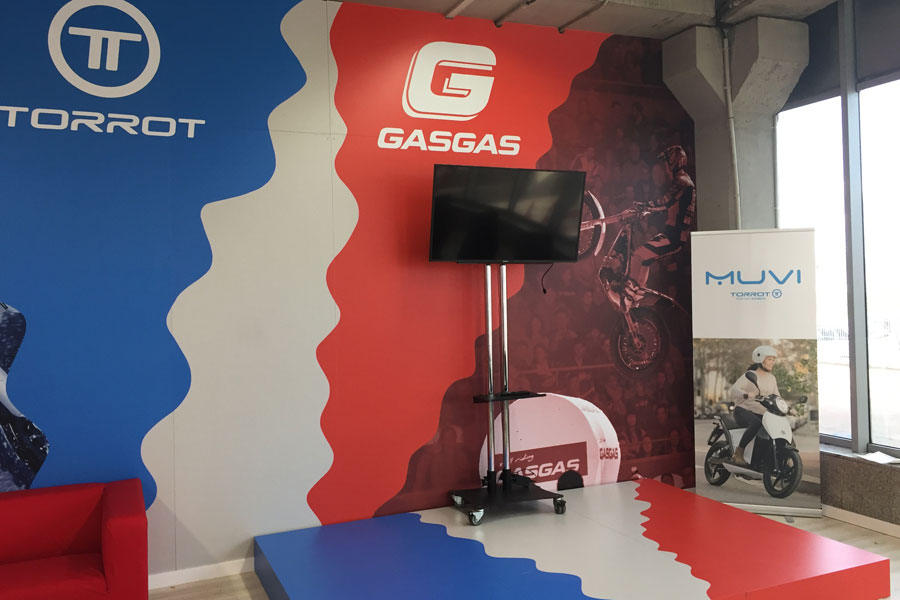 Graphic design and production for Gas Gas and Torrot